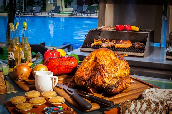 Christmas 2018 New Year S Eve Festive Poolside Bbq Buffet At