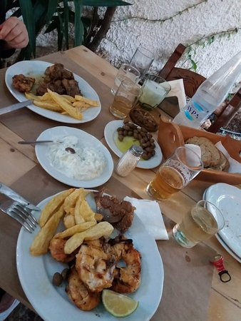 Rethymnon Prefecture, Greece: Hauptspeisen