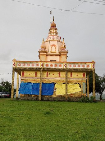 Murud, Ινδία: Datta mandir and view from there