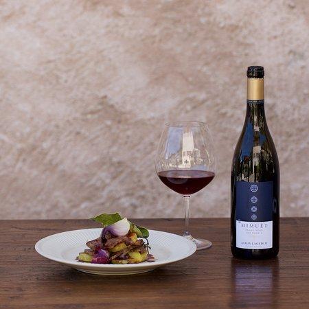 Magre sulla strada del vino, إيطاليا: Cucina biologica