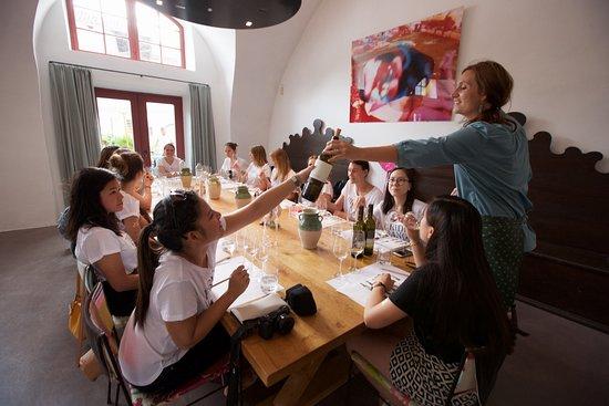 Magre sulla strada del vino, إيطاليا: Tasting
