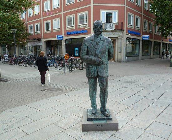 Skulpturen Gustaf Fröding