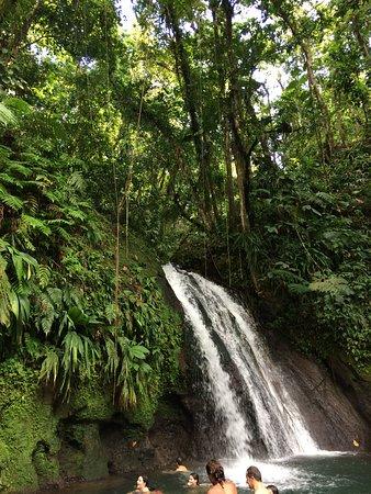 Парк Национальный, Гваделупа: cascade
