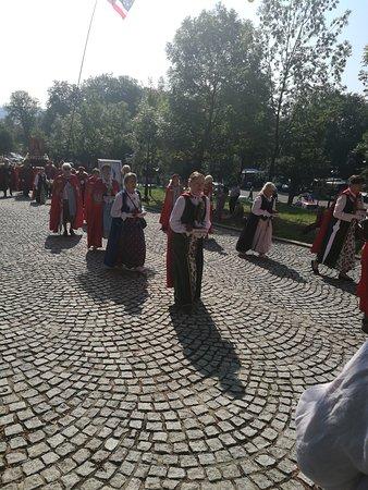 Kalwaria Zebrzydowska Santuario: costumi locali