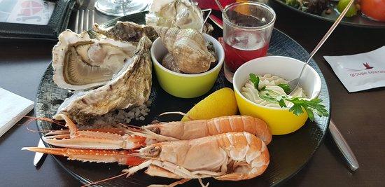 Saint-Brevin-l'Ocean, France: L'Assiette de la Mer (ou de l'Océan)