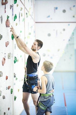 Indoor-Klettern