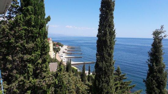 Alushta Municipality: Вид из номера - потрясающий