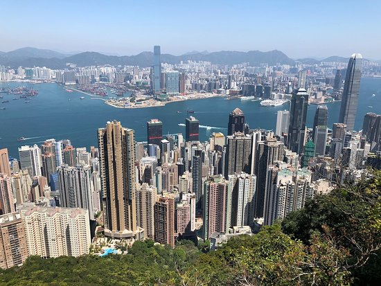 Victoria Peak (The Peak): Amazing view!