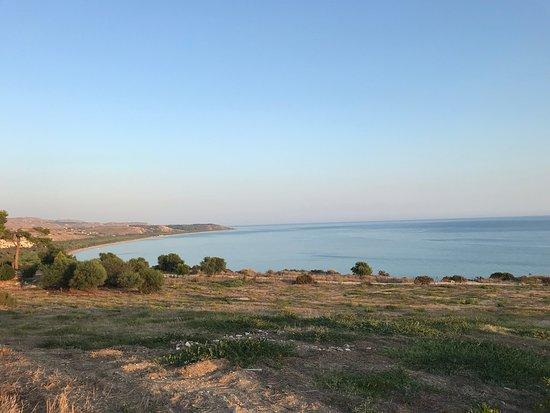 Eraclea Minoa, Italie : Panorama visibile dal sito