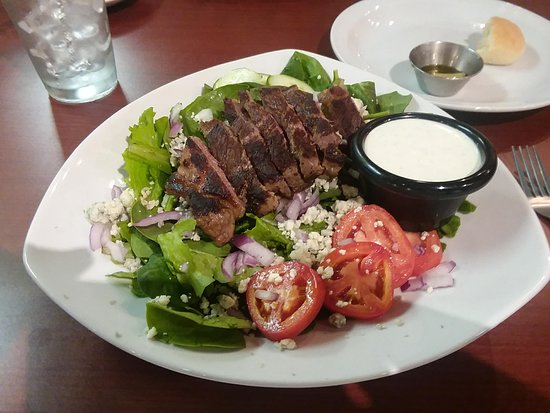 ‪‪Spindale‬, ‪North Carolina‬: Steak salad with blue cheese‬