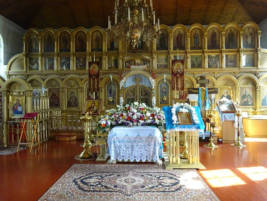 Sillamae, Estonia: Inside the church
