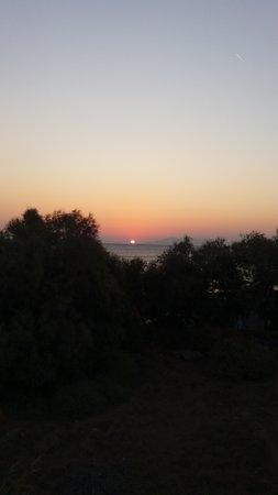 Sunrise from Kamari