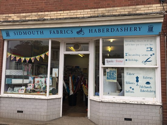 Sidmouth, UK: Our Shop