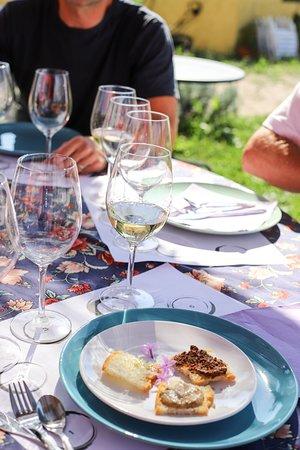 Azienda Agricola Poggio La Luna: Tasting the white wine