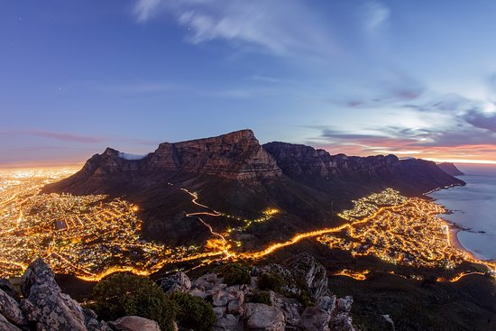 Cape Town, South Africa: This photo was taken on a tour by a friend named Kevin Sawyer at one of our secret sunset spots.