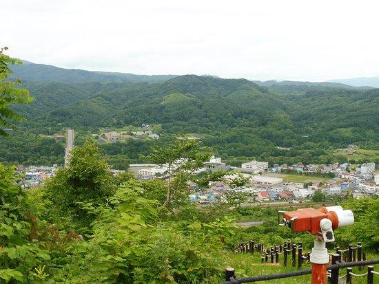 Akabira, Japan: 山頂からの眺め、双眼鏡もあります