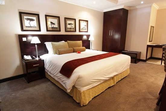 Francistown, Botswana: Guest room
