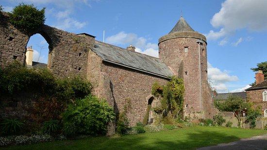 Tiverton Castle (south wall)