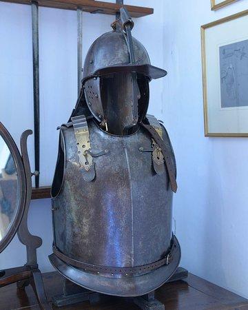 Tiverton Castle: Civil War Armour (modern reproduction)