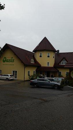 Jennersdorf, Østerrike: Hotel Oasis Eingang