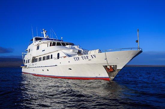 Baltra, Ecuador: TIP TOP IV  First Class Yacht