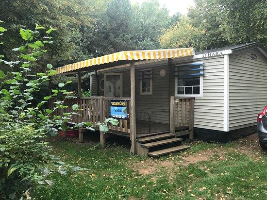 Larochette, Luksemburg: Mobile home waikiki Vacansoleil voor 6 personen