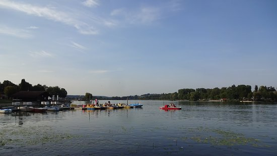 Waging am See, Jerman: Il lago