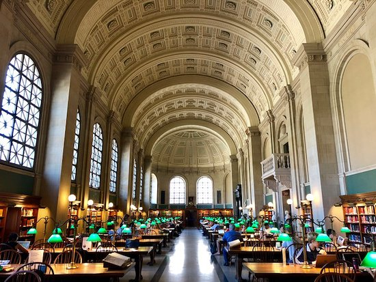 ‪Boston Public Library‬