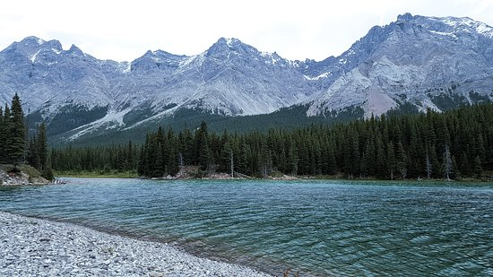 Kananaskis Country, Kanada: Elbow Lake at the end of the 1.3 km trail