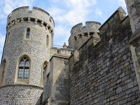 قلعة وينسور: Tourelles du château de Windsor