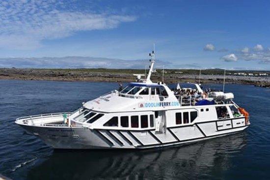The Doolin Ferry Co.: The Doolin Express Ferry.