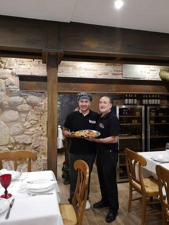 Fotos en restaurante