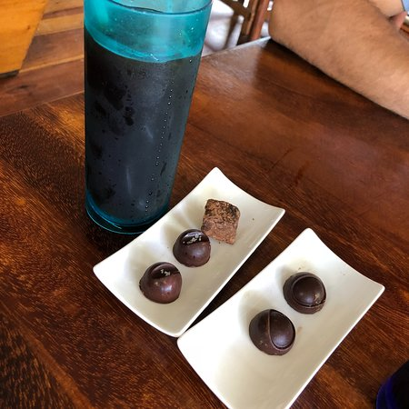Bread & Chocolate: Cold brew + different types of truffles