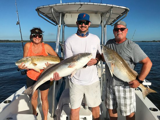 Atlantic Beach, FL: September Bull Reds!