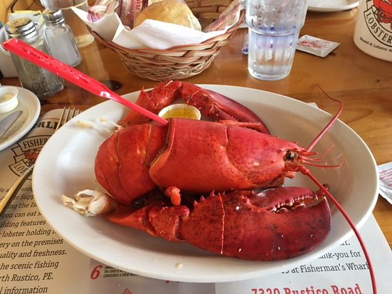 Fisherman's Wharf Lobster Suppers: 1 lb Lobster!