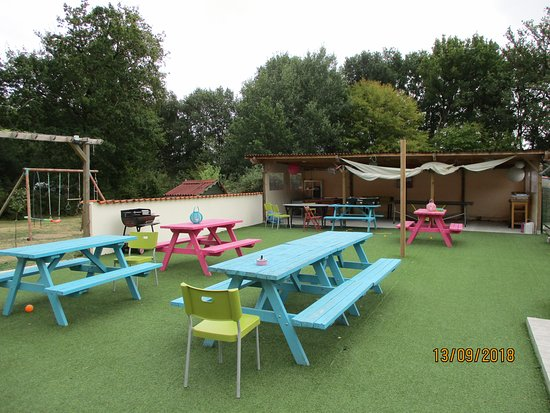 Chalandray, Frankreich: Chill out area