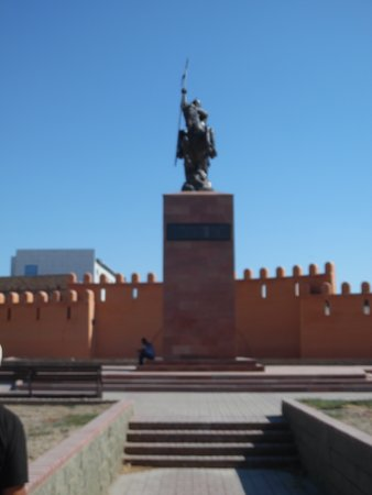 Kyzylorda, Kasachstan: front view