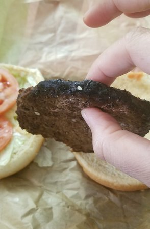 Ozark, AL: So burnt. Why put this on someone's sandwich?