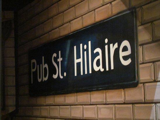 Le Pub St Hilaire: pub st hilaire