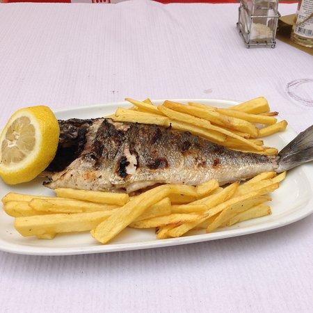 Almograve, Πορτογαλία: Fried fish