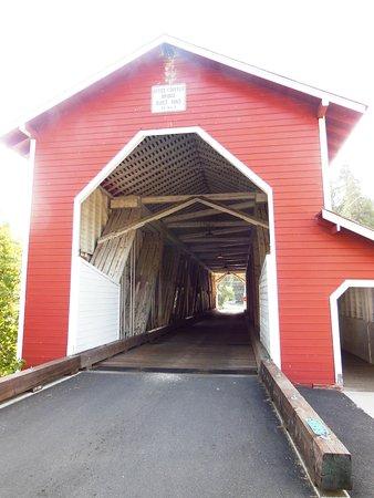 Ponte coberta em Westfir