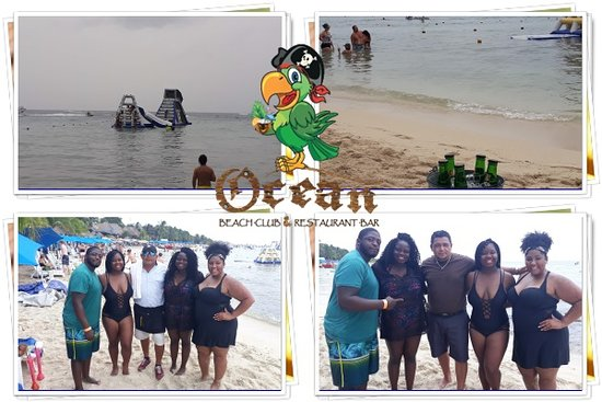 Ocean Beach Cozumel Club In Restaurant Bar Pool Waterpark