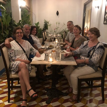 Thank you Tripadvisor, without you we would never have come here! Food was delicious, so fresh &