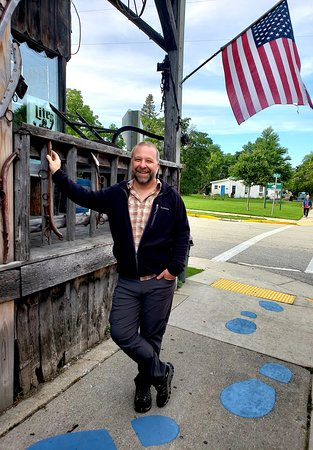 Baileys Harbor, WI: Following Paul Bunyan's large footprints to the bar