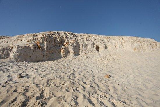 """Dzerzhinsky, Oroszország: Шикарная песчаная """"гора"""" и приятный пляж - приложение к отзыву. (Последние 3 фото это скриншоты"""