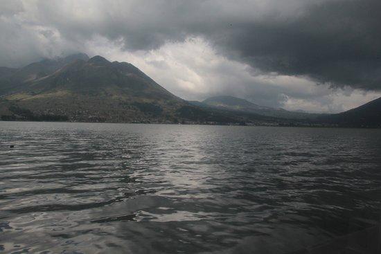 San Pablo Del Lago, Ecuador: Вид из окна ресторана