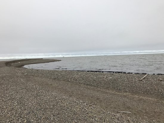 Prudhoe Bay, AK: View of the Arctic Ocean at the end of the tour