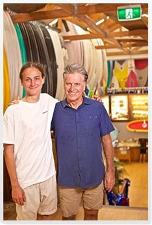 Owner & Founder of Natural Necessity Kent Ladkin and his youngest son Taj.