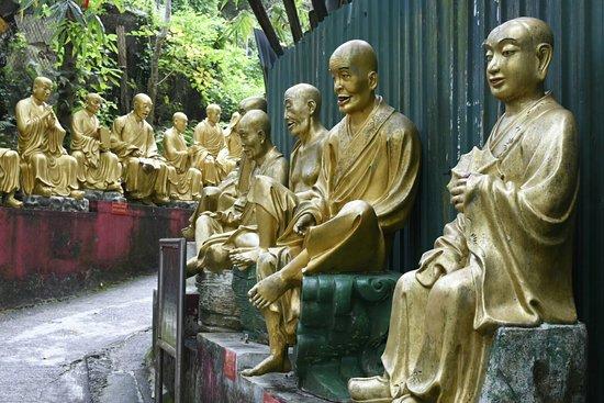 Ten Thousand Buddhas Monastery (Man Fat Sze): La sagesse des bouddhas