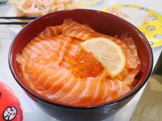 Genki Sushi: rice